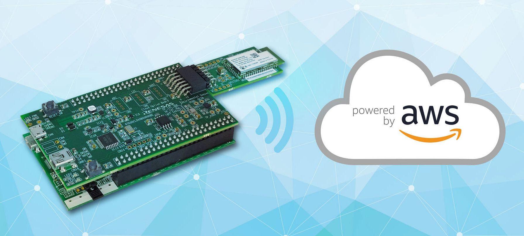 Amazon FreeRTOS認定取得のRX65Nクラウド通信評価キット
