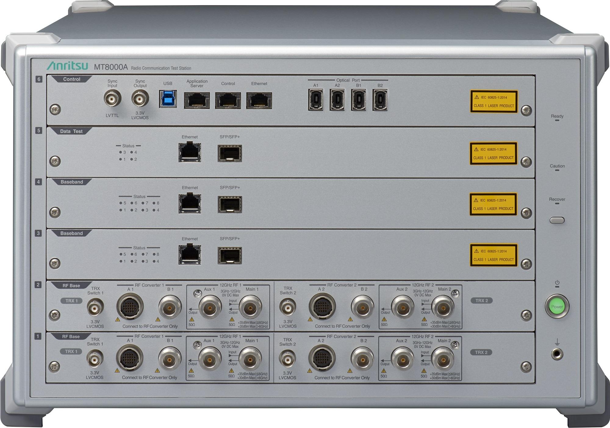 ラジオコミュニケーションテストステーション「MT8000A」