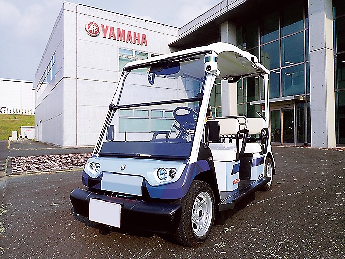 ヤマハ発動機が開発するランドカー