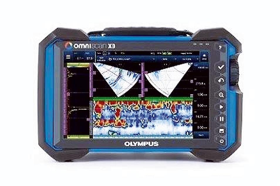オリンパスの超音波フェーズドアレイ探傷器「OmniScan X3」
