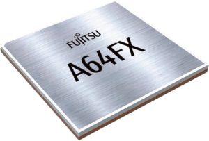 CPU「A64FX」のイメージ