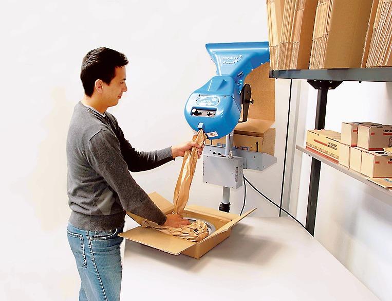 Ranpak社製の梱包用紙緩衝材