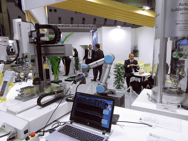 レーザーや超音波接合技術をはんだ付けロボットに応用しているジャパンユニックス