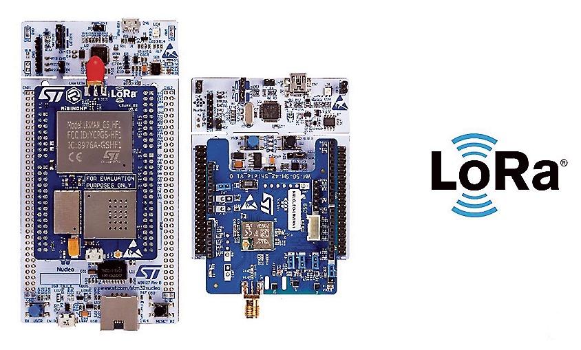 STM32 Nucleo LoRa dev packs