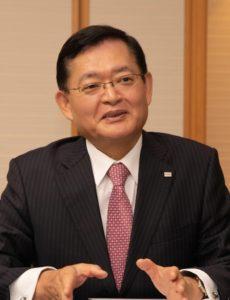 4月1日付で社長CEOに就任する東芝の車谷会長CEO
