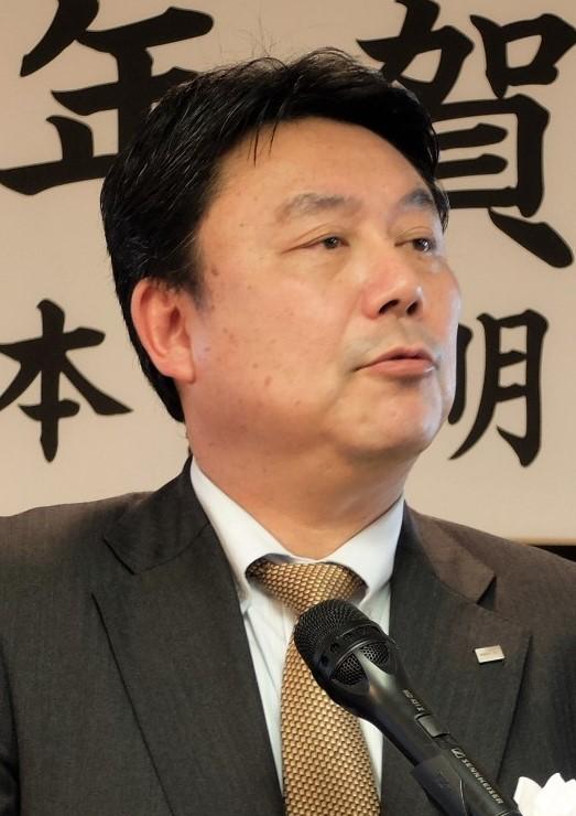 平岡会長はストックの100%LED化に向けた方向性を改めて示した