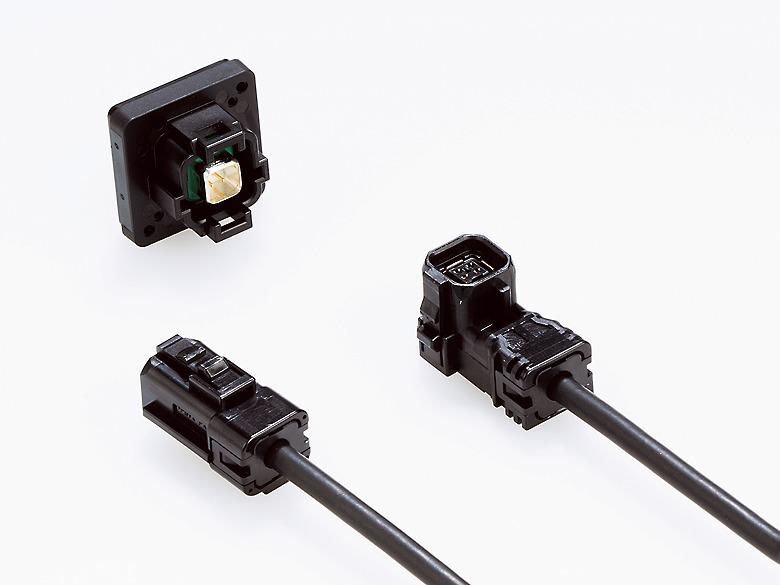 車載デジタルカメラ向け高速伝送用小型コネクタ