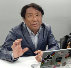 SDGsへの思いを語る森編集長