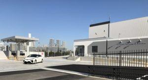 東京ガスとしては、4カ所目の水素ステーションとなる豊洲水素ステーション