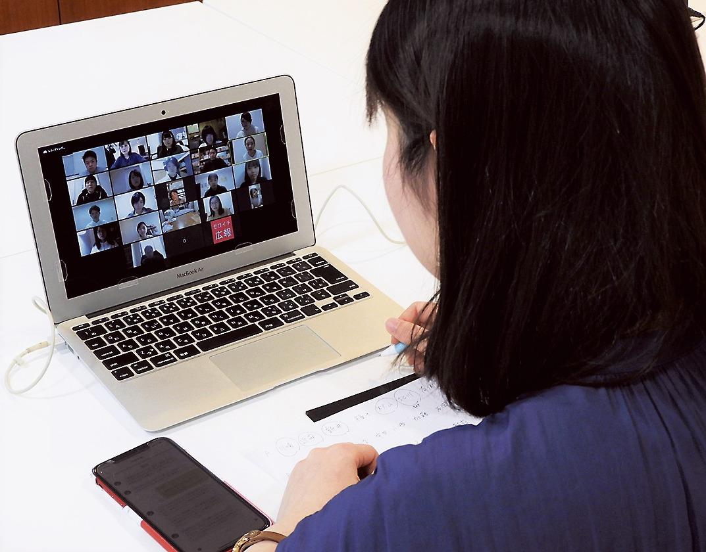 「オンライン就活」を運営する担当者(東京都千代田区のガイアックス)